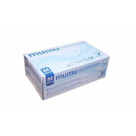 Mumu latex munkavédelmi gumikesztyű - L -100 db/ doboz