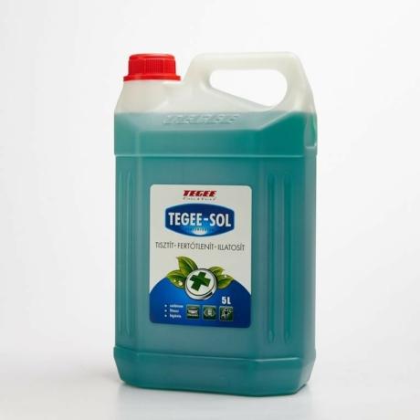 Tegee-Sol fertőtlenítő koncentrátum - 5 l